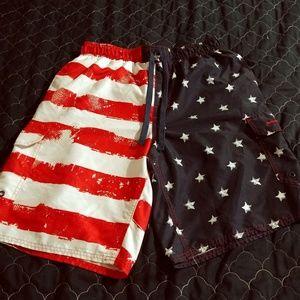 Men's patriotic shorts